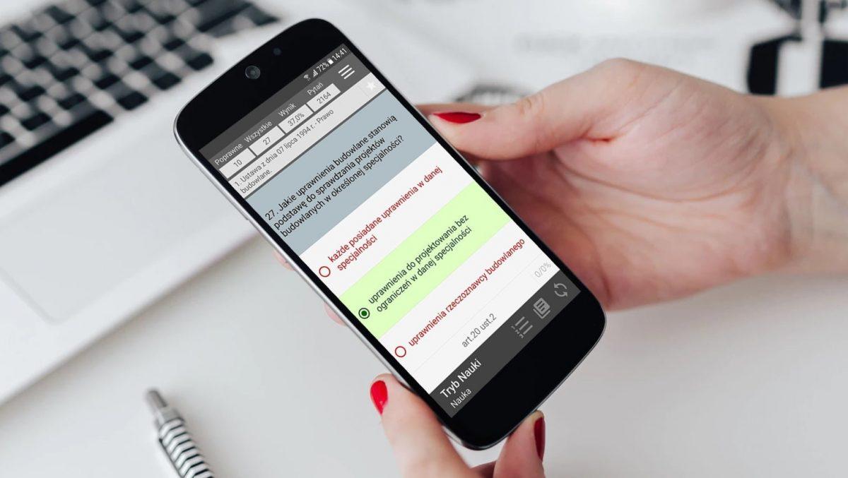 Aplikacja Uprawnienia Budowlane na Android