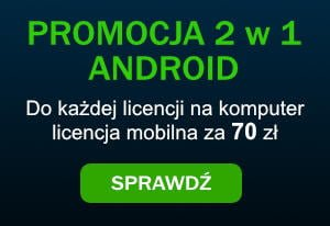 Android promocja 2 w 1