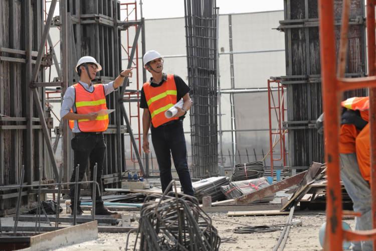 Praktyka na budowie - praktykant i kierownik praktyki zawodowej